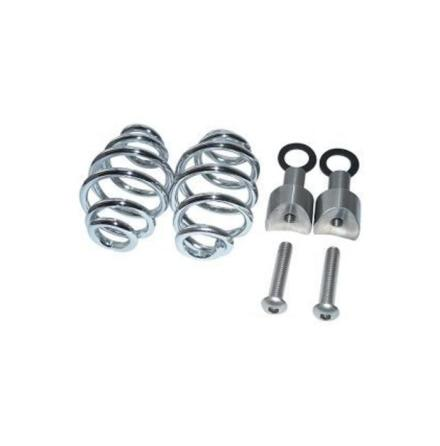 "SPIRAL SPRINGS CHROME 3"" WITH MOUNTING"