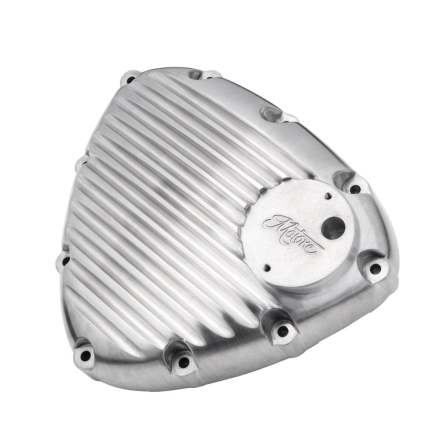 Finned Timing/Stator Cover - Brushed