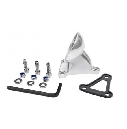 Rear Fender Tail Light Mount Bracket - Polish