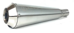 Ironhead Silencer Brushed Stainless Steel, E-marked