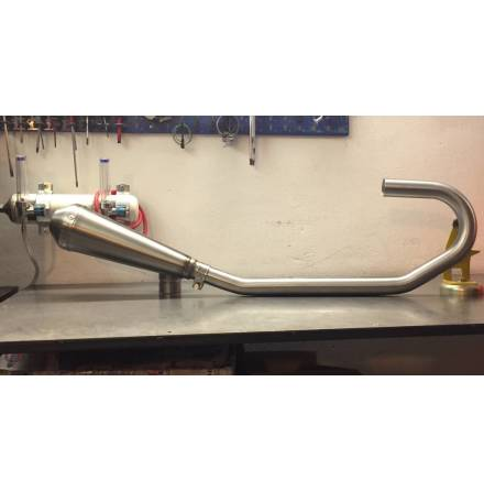 Handmade Stainless BMW headers with mufflers