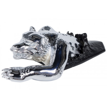 HIGHWAY HAWK Figure hunting bear, chrome