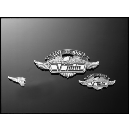HIGHWAY HAWK Sticker V-Twin, size S