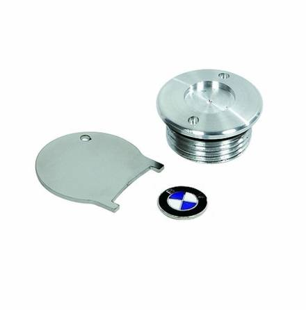 Oil filling plug with emblem enamelled for all BMW R2V Boxer models