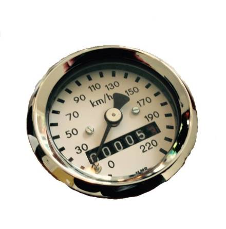 48MM BMW Odometer Chrome
