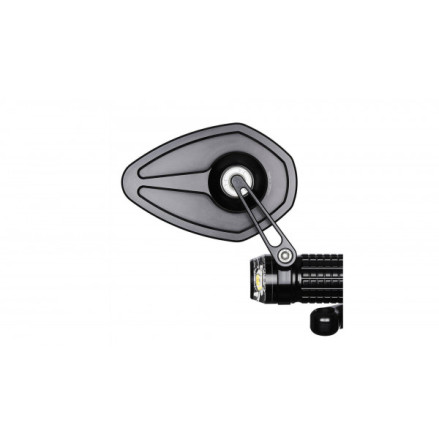 motogadget mo.view pace, glassless handlebar end mirror, E-marked