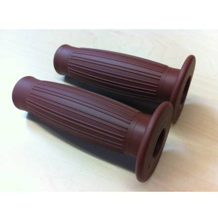 22MM Balloon Grips Brown