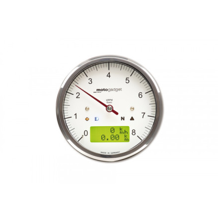 motogadget motogadget motoscope classic rev counter 8.000 RPM