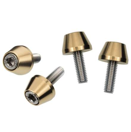Shock Mount Finishing Kit Brass