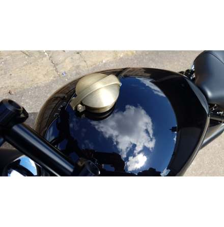 Monza Cap Kit for Triumph and HD - Brass Plate
