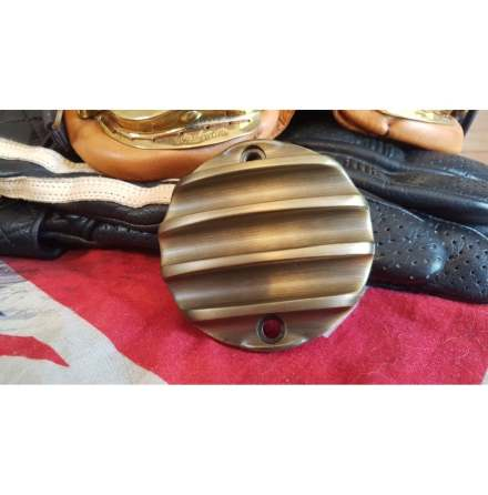 Points ACG Cover - Ribbed - Brass Finish