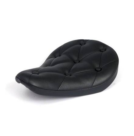 "Bobber Seat ""Rivets"" Black"