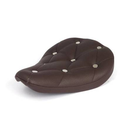 "Bobber Seat ""Rivets"" Brown"