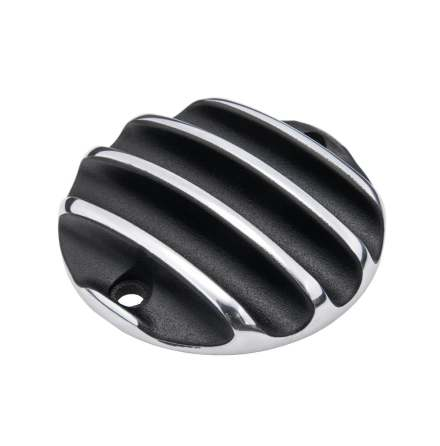 Points ACG Cover - Ribbed - Black/Polished Rib Contrast Finish