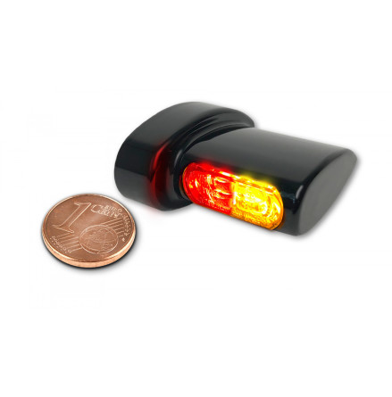 HeinzBikes Winglets MICRO 3in1 LED indicators, all Harley-Davidson models 93-, in different colors
