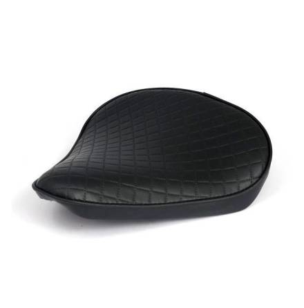 Solo Seat Diamond Bobber Black