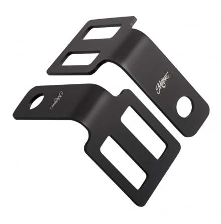 Indicator Brackets - Under Seat Mount - Black