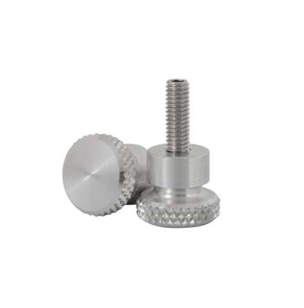 Quick Release Aluminium Side Panel Bolts - Polished
