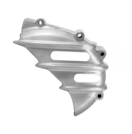 Sprocket Cover - Ribbed - Brushed - AC