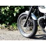 Shorty - Front Mudguard/Fender - Brushed Aluminium - LC Bikes